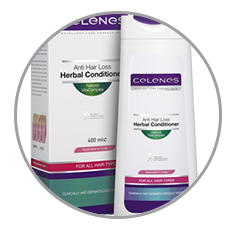 Celenes hajhullás elleni gyógynövényes hajbalzsam